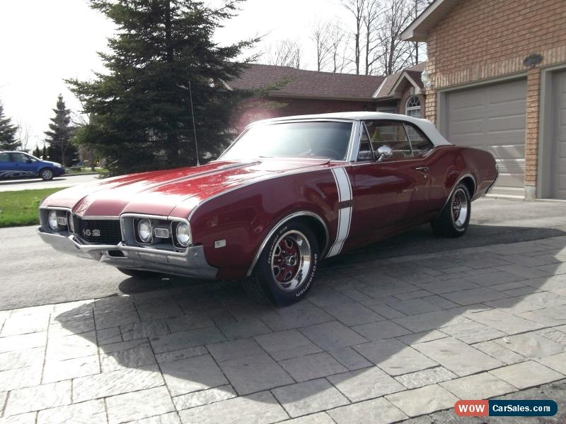 Classic Oldsmobile 442 1968 CONVERTIBLE For Sale