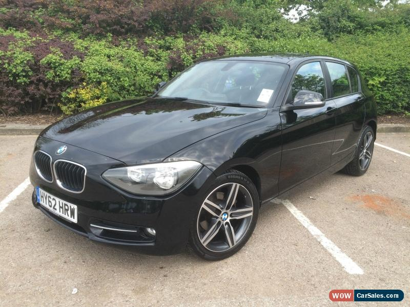 2012 bmw 116i sport turbo for sale in united kingdom. Black Bedroom Furniture Sets. Home Design Ideas