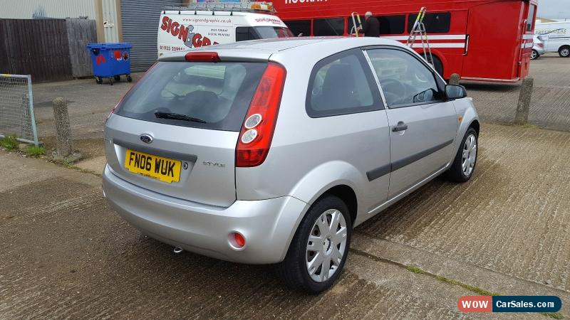 2006 Ford Fiesta Style Climate For Sale In United Kingdom