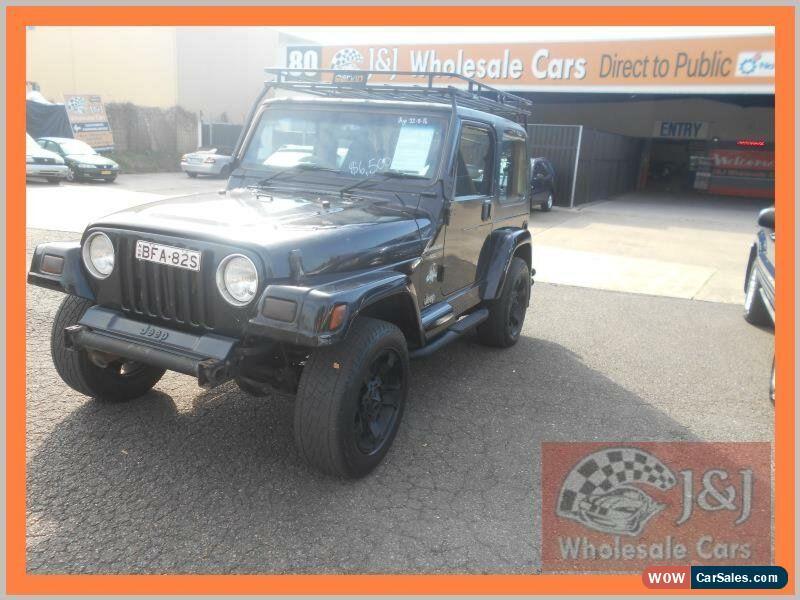 1999 Jeep Wrangler For Sale >> Jeep Wrangler For Sale In Australia