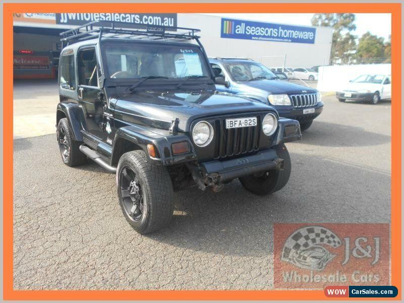 jeep wrangler tj sport 4x4 black automatic 3sp a hardtop for sale. Cars Review. Best American Auto & Cars Review