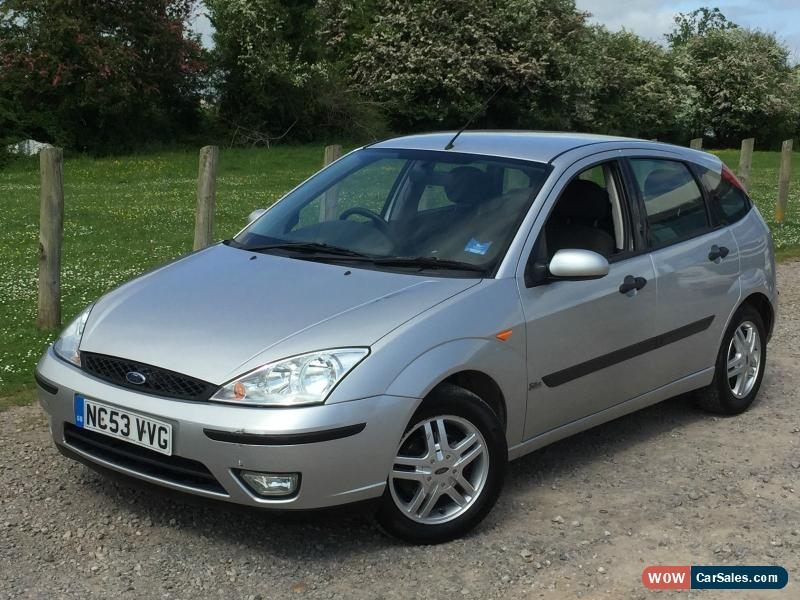 2004 ford focus zetec for sale in united kingdom. Black Bedroom Furniture Sets. Home Design Ideas