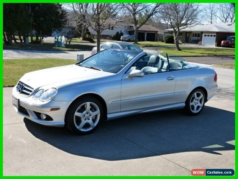 2007 mercedes benz clk class for sale in canada for Mercedes benz clk convertible for sale
