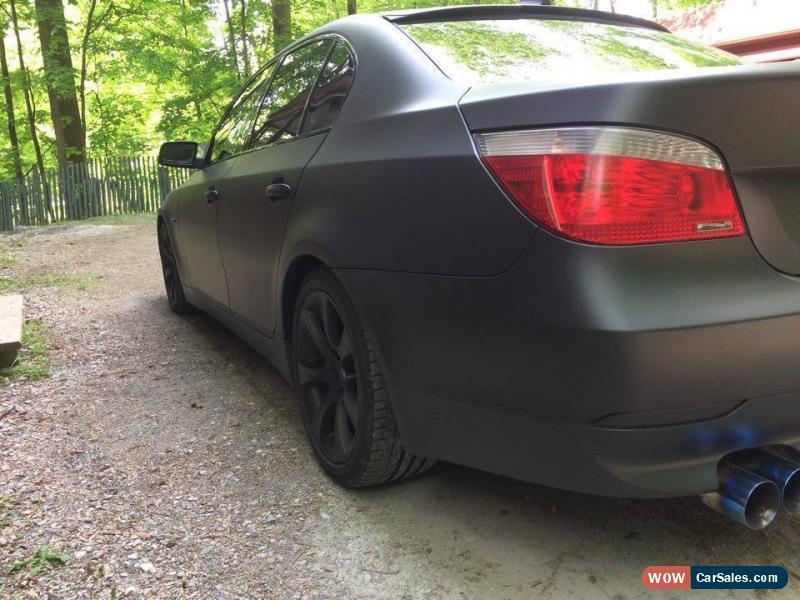 Classic BMW 5 Series 545i SMG MATT BLACKOUT For Sale