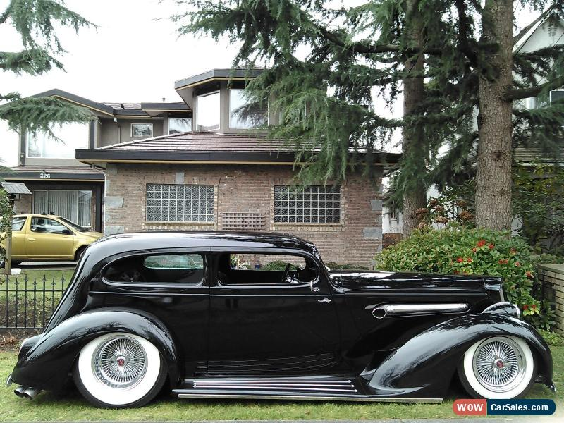 1936 packard slantback 2 door sedan for sale in canada. Black Bedroom Furniture Sets. Home Design Ideas