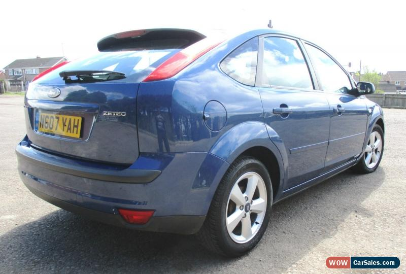 2007 Ford Focus Zetec Climate For Sale In United Kingdom. Classic 2007 Ford Focus Zetec Climate Blue 18 Petrol Manual 5 Door For Sale. Ford. Schematic 2007 Ford Focus Door At Scoala.co