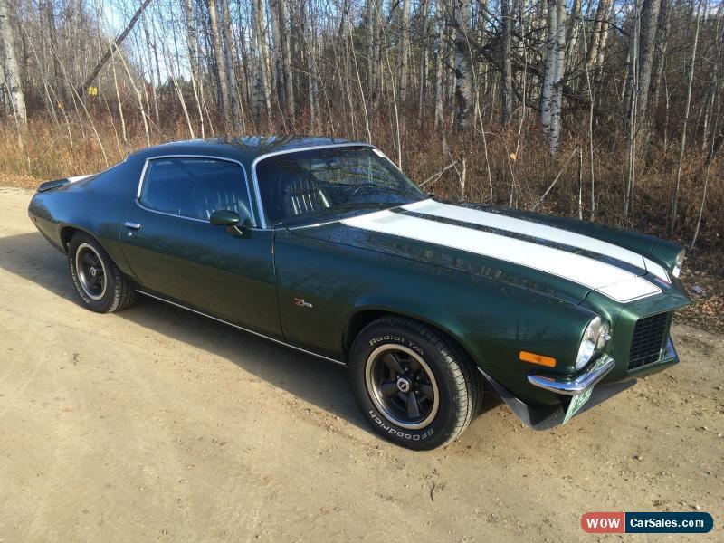 1971 Chevrolet Camaro For Sale In Canada