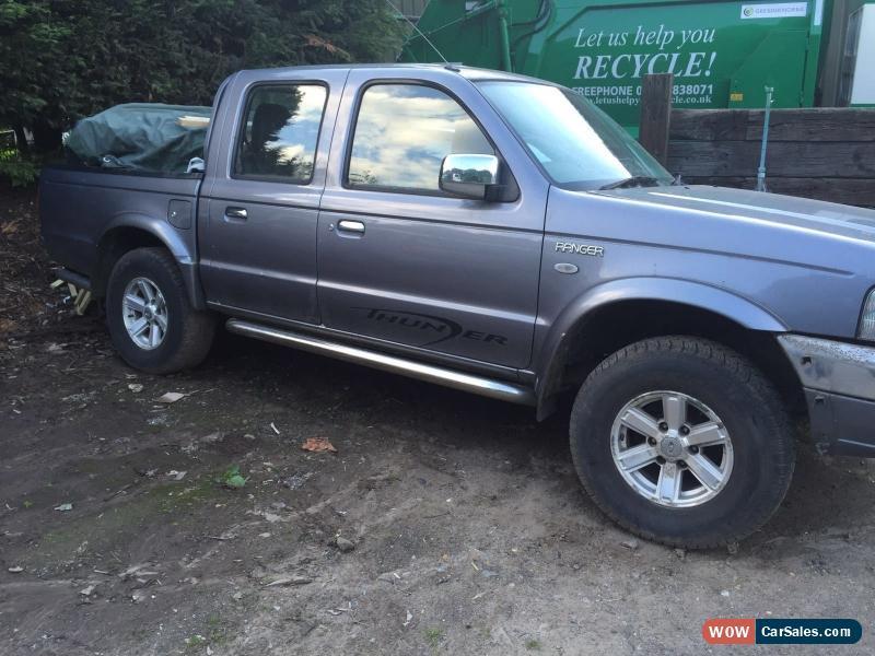 2004 Ford Ranger For Sale In United Kingdom