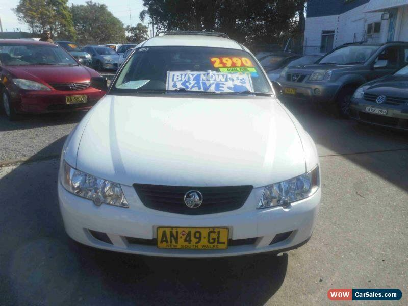2003 Holden Commodore VY II Executive White Automatic 4sp A Wagon