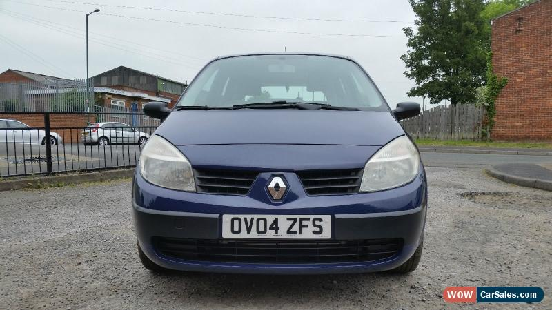 2004 renault gr scenic authentique dci for sale in united kingdom. Black Bedroom Furniture Sets. Home Design Ideas