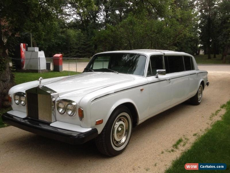 classic rolls royce silver shadow limousine for sale. Black Bedroom Furniture Sets. Home Design Ideas