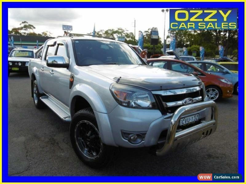 2011 Ford Ranger Pk Xlt 4x4 Silver Manual 5sp M Dual Cab Pick Up