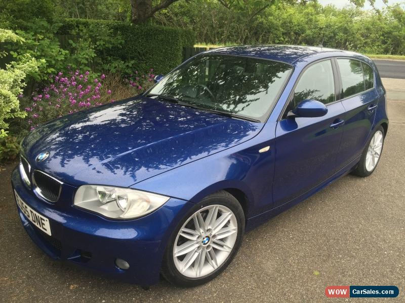 2005 bmw 116i m sport for sale in united kingdom. Black Bedroom Furniture Sets. Home Design Ideas