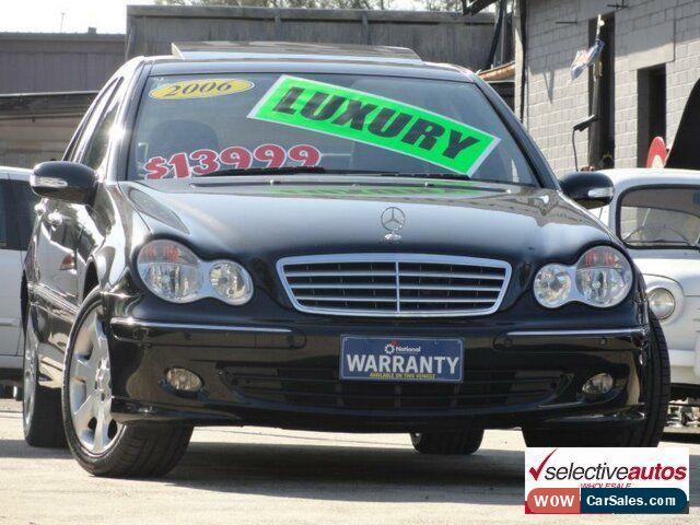Classic 2006 Mercedes Benz C230 W203 MY06 Elegance Black Automatic 7sp A  Sedan For Sale