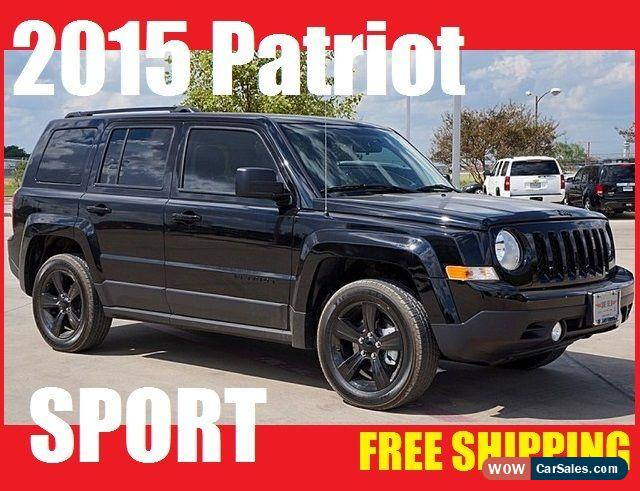 2015 Jeep Patriot For Sale In Canada