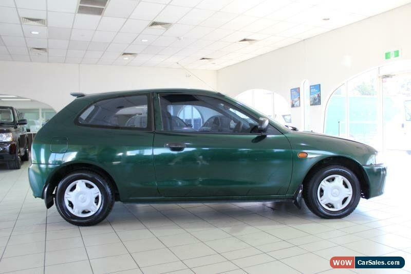 classic 2001 mitsubishi mirage ce green automatic 4sp a hatchback for sale - Mitsubishi Mirage 2001 Coupe