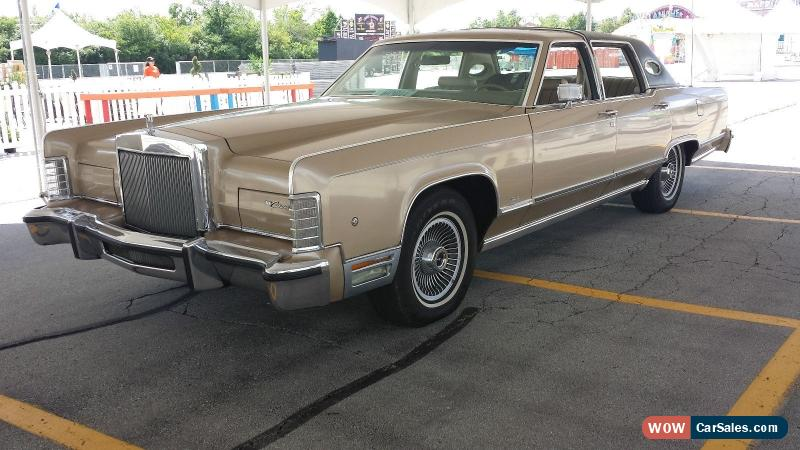 1978 lincoln continental for sale in canada. Black Bedroom Furniture Sets. Home Design Ideas