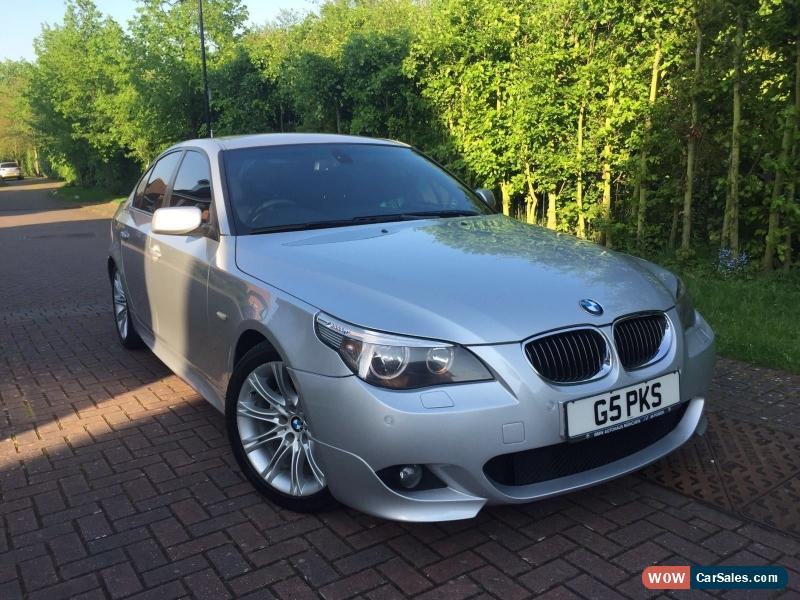 2006 bmw 525d m sport auto for sale in united kingdom. Black Bedroom Furniture Sets. Home Design Ideas