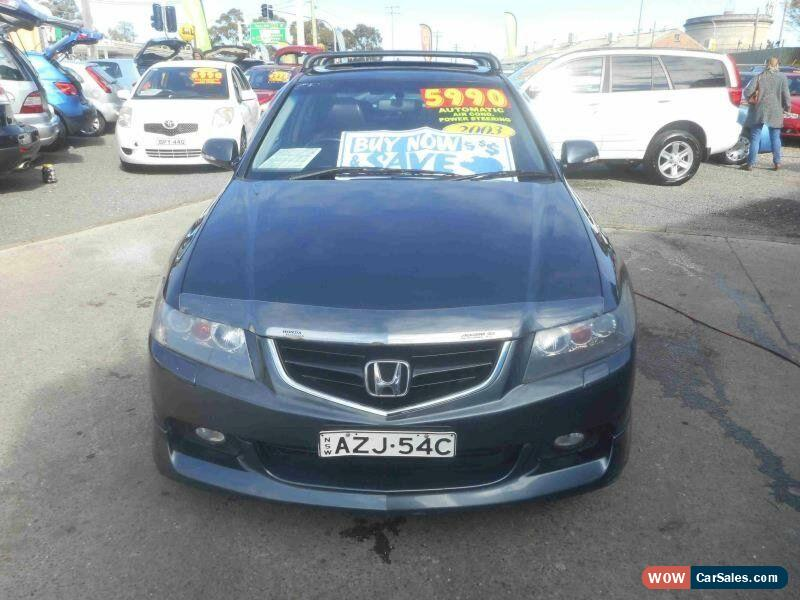 Classic 2003 Honda Accord Euro Luxury Grey Automatic 5sp A Sedan For Sale  ...