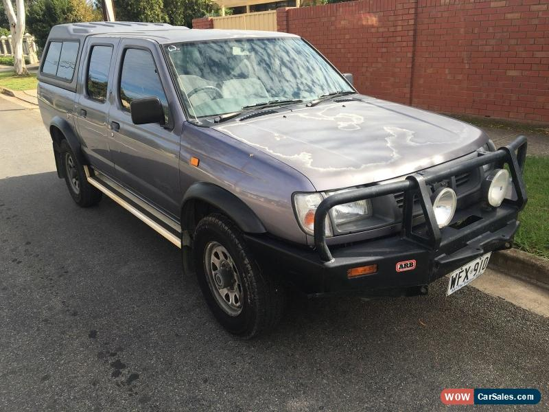 ... Classic 1999 Nissan Navara D22 DX 3.2 DIESEL 4X4 bullbar canopy CHEAP as traded in sale & Nissan Navara for Sale in Australia