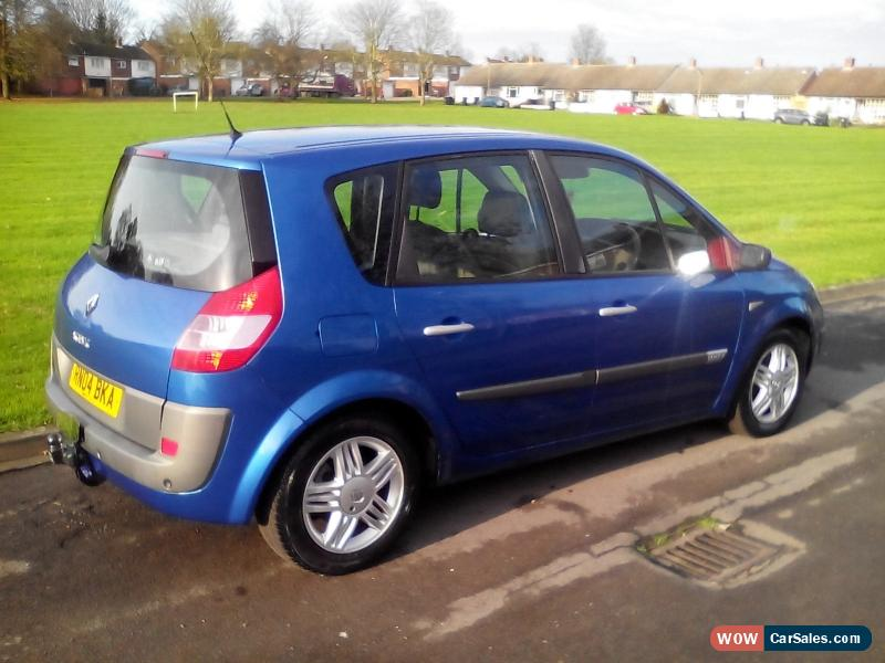 2004 renault scenic privilege dci 120 for sale in united kingdom. Black Bedroom Furniture Sets. Home Design Ideas