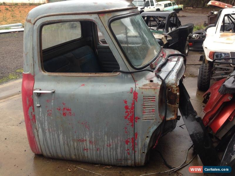 1955 Ford F100 cab Left hand drive project Hot Rod for Sale in Australia