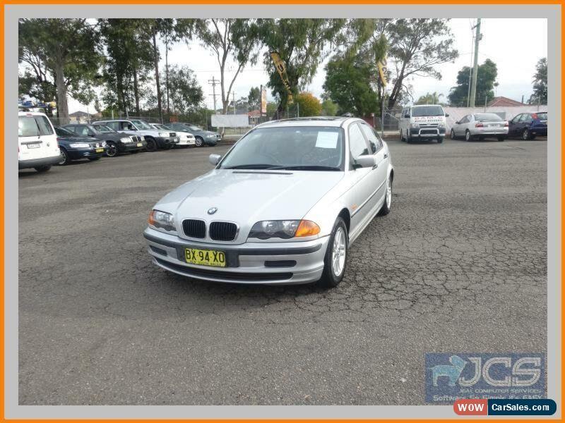 Clic 1999 Bmw 318i E46 18i Silver Automatic 4sp A Sedan For