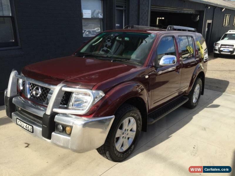 2006 Nissan Pathfinder For Sale >> Nissan Pathfinder For Sale In Australia