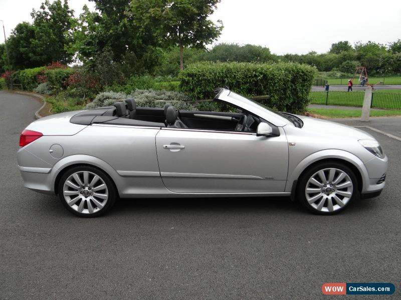 2006 Vauxhall Astra Twin Top Design For Sale In United Kingdom