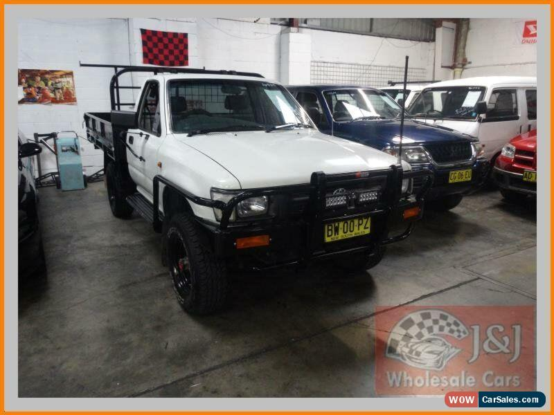 toyota hilux for sale in australia rh wowcarsales com 1994 toyota hilux surf workshop manual 1994 toyota hilux owners manual pdf