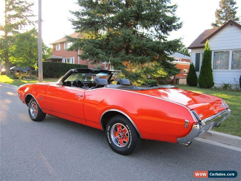 Classic 1969 Oldsmobile 442 Convertible For Sale