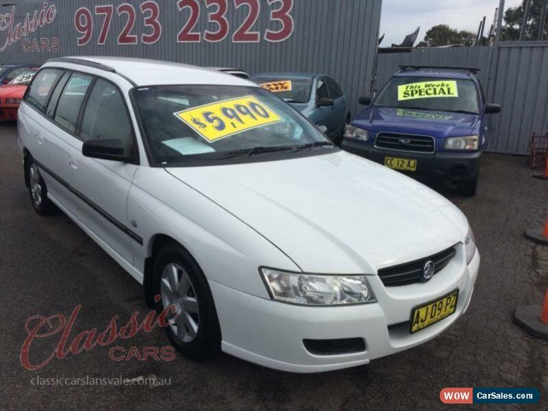 2006 Holden Commodore VZ Executive White Automatic 4sp A Wagon