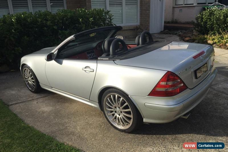 Mercedes benz slk class for sale in australia for 2001 mercedes benz slk320 for sale