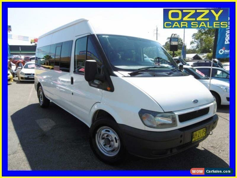 2006 Ford Transit VJ 12 Seat White Automatic 5sp A Bus