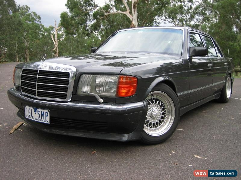Mercedes benz s class for sale in australia for Mercedes benz 560 sec amg for sale