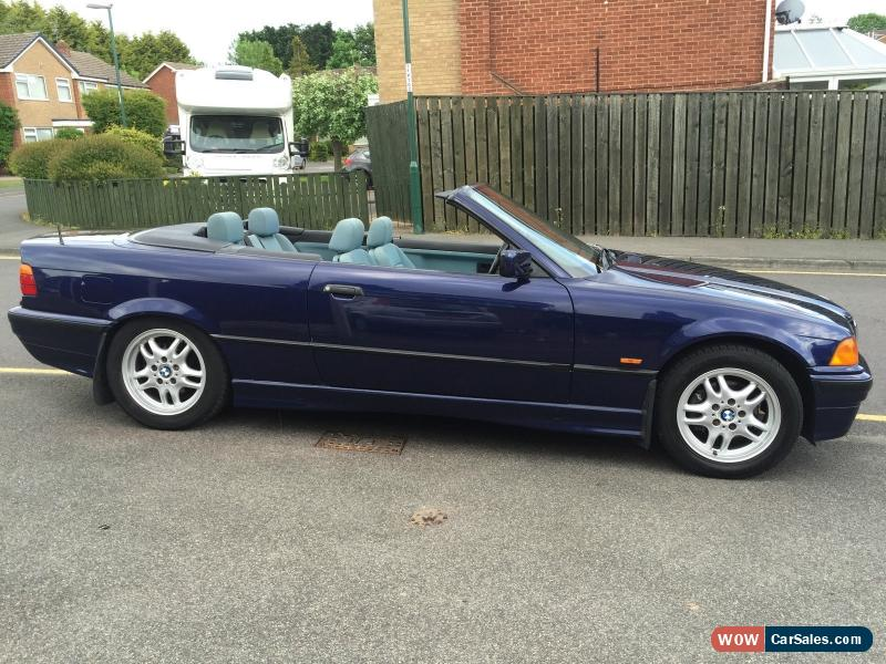 1997 bmw 328i cabrio auto for sale in united kingdom. Black Bedroom Furniture Sets. Home Design Ideas