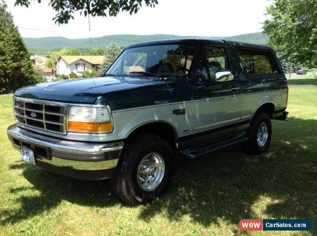 1996 ford bronco for sale in united states. Cars Review. Best American Auto & Cars Review