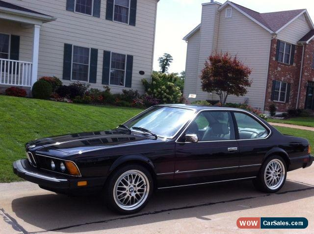 1984 bmw 6 series for sale in united states. Cars Review. Best American Auto & Cars Review