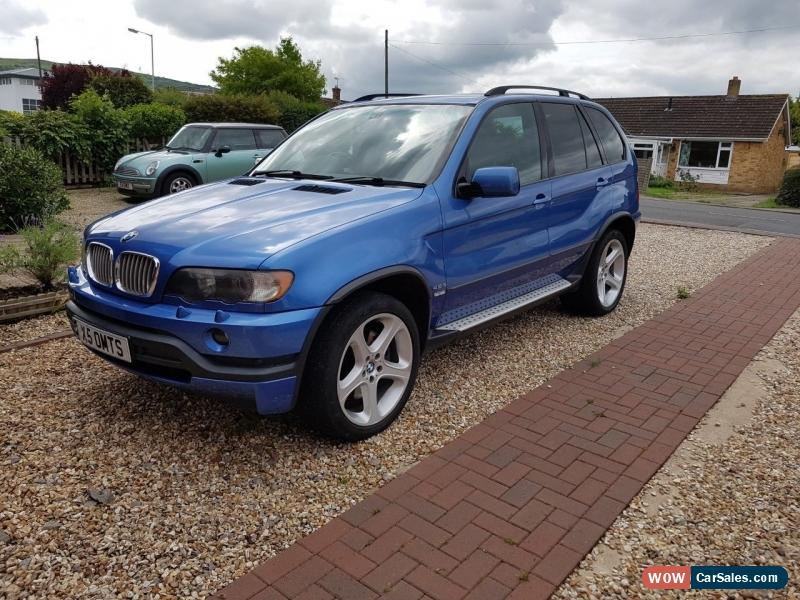 2003 bmw x5 is auto for sale in united kingdom. Black Bedroom Furniture Sets. Home Design Ideas