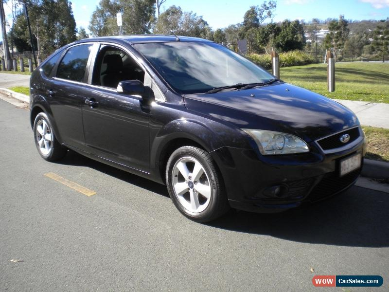 2009 ford focus cdi turbo diesel 6 speed manual black great economy nice car for sale in australia. Black Bedroom Furniture Sets. Home Design Ideas
