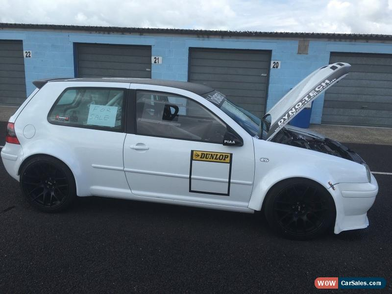 Vw golf 1.8T fully converted track day car for Sale in United Kingdom
