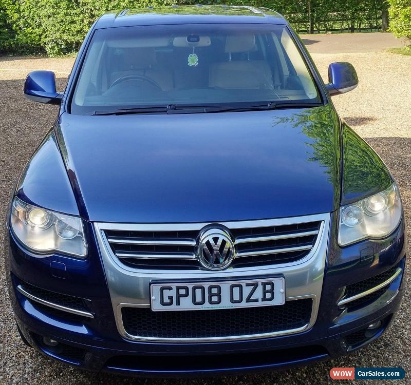 2008 Volkswagen Touareg 2 Transmission: 2008 VOLKSWAGEN TOUAREG ALT V10 313 A BLUE For Sale In