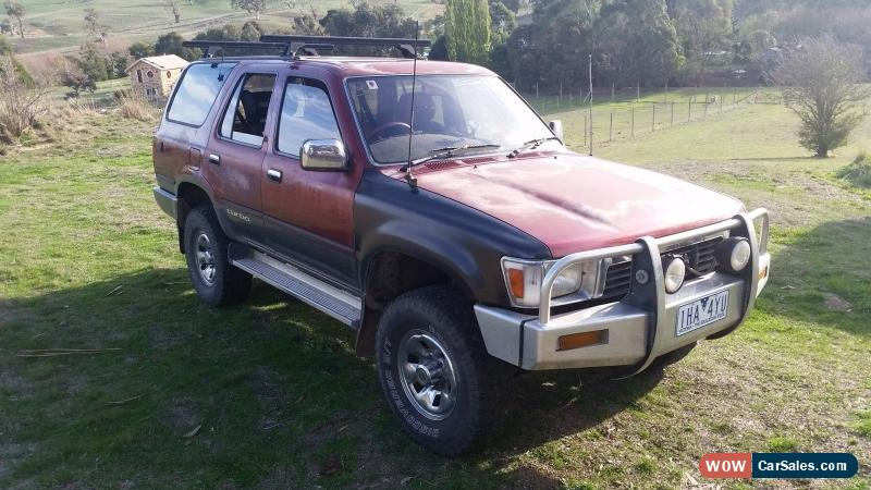 toyota 4runner for sale in australia rh wowcarsales com toyota surf manual transmission toyota surf manual for sale philippines