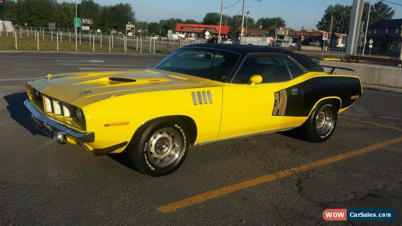 1971 Plymouth Barracuda For Sale In Canada