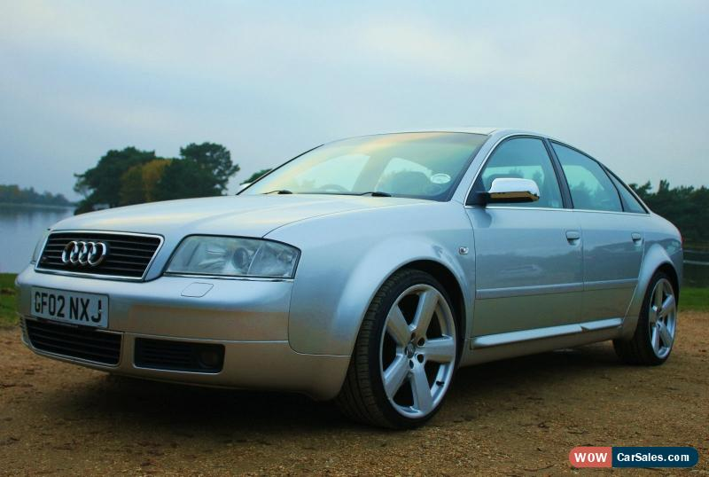 2002 audi a6 4 2 quattro sport auto for sale in united kingdom. Black Bedroom Furniture Sets. Home Design Ideas