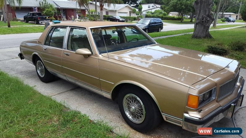 bb classic chevrolet caprice for sale watch rare with