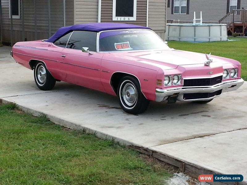 1972 chevrolet impala for sale in united states. Black Bedroom Furniture Sets. Home Design Ideas