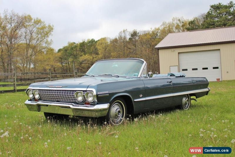 1963 chevrolet impala for sale in united states. Black Bedroom Furniture Sets. Home Design Ideas