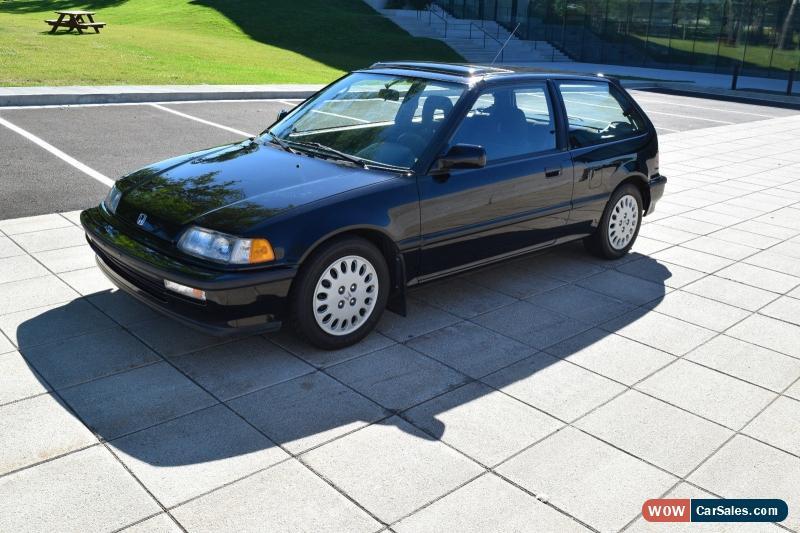 1991 Honda Civic For Sale In Canada
