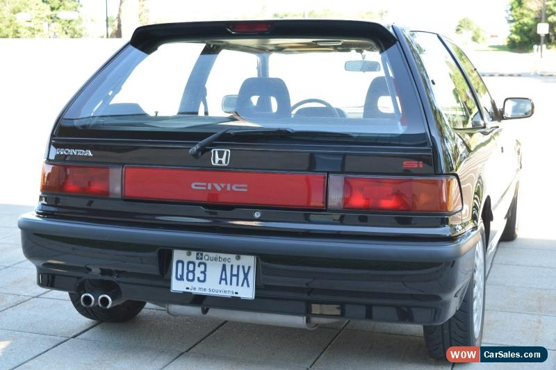 1991 honda civic for sale in canada. Black Bedroom Furniture Sets. Home Design Ideas